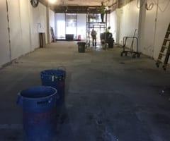 Floor Preparation interior demolition